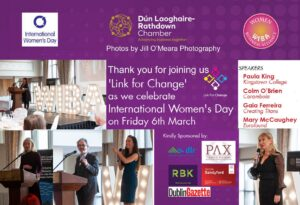 Summary image of Link for change International Womens day lunch dlrchamber