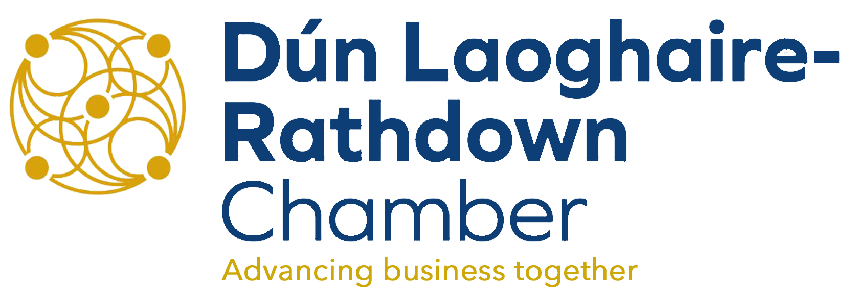 dlr chamber logo and strapline
