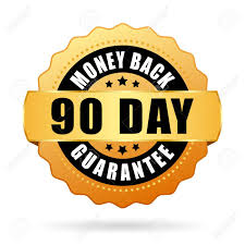 90 day guarantee logo